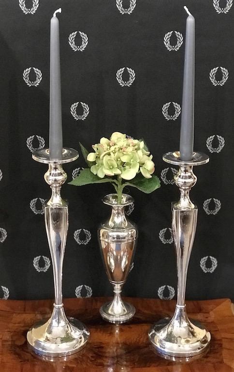 Leuchterpaar Sterling Silber