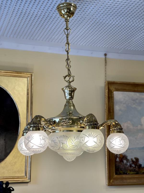 Deckenlampe – Gründerzeit