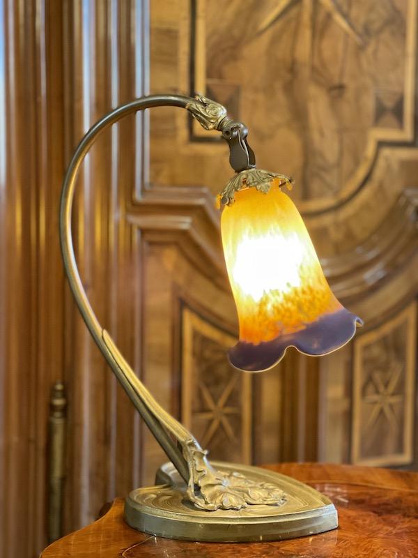 Tischlampe Jugendstil Muller Freres Luneville